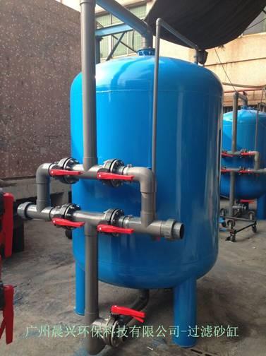 中水回用设备中清洗过滤砂缸